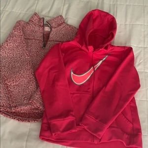 Girls L jackets